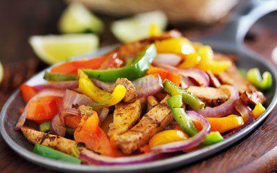 Chicken, Vegetables