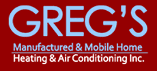 Greg's Manufactured Mobile Home Heating & A/C Inc - Logo