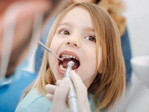 Pediatric dental service