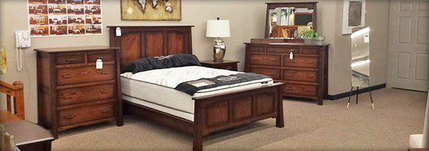 Wooden furniture for bedroom