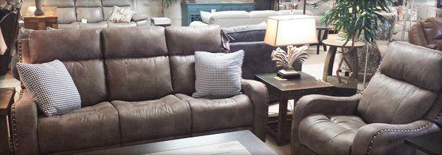 Brown sofa set for home