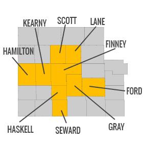 Oswalt Appraisals - Service Area Map