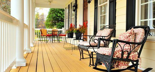 Porch remodeling