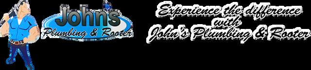 John's Plumbing and Rooter logo