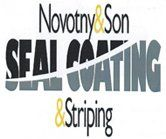 Novotny & Son Seal Coating & Paving - Logo