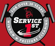 Service 1st Windows and Pressure Cleaning - Logo