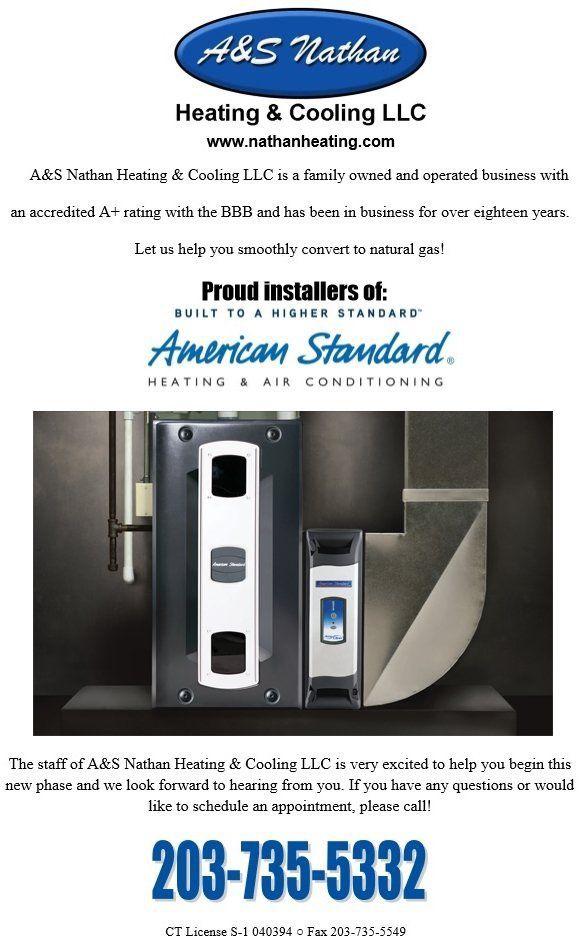 Convert To Gas Heating Amp Air American Standard