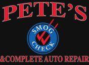 Pete's Complete Auto Repair - Logo