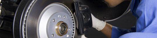 Brake and caliper inspection