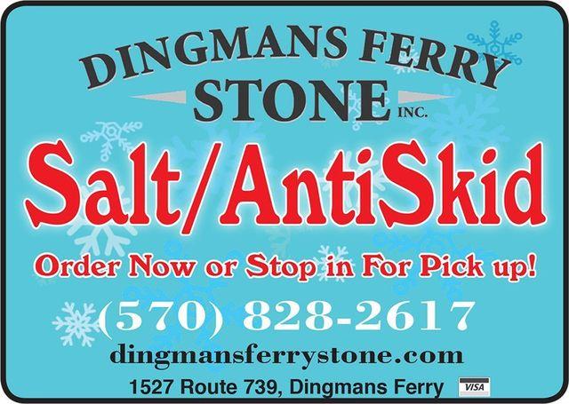 Salt/AntiSkid - Order now or stop in for pick up!