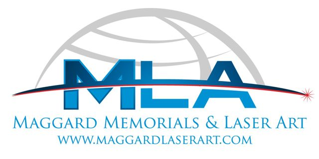 Maggard Memorials and Laser Art Technology - Logo