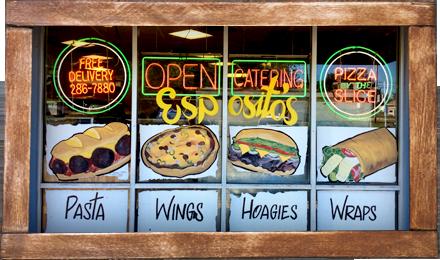 Espositos Italian Cuisine & Pizza store front