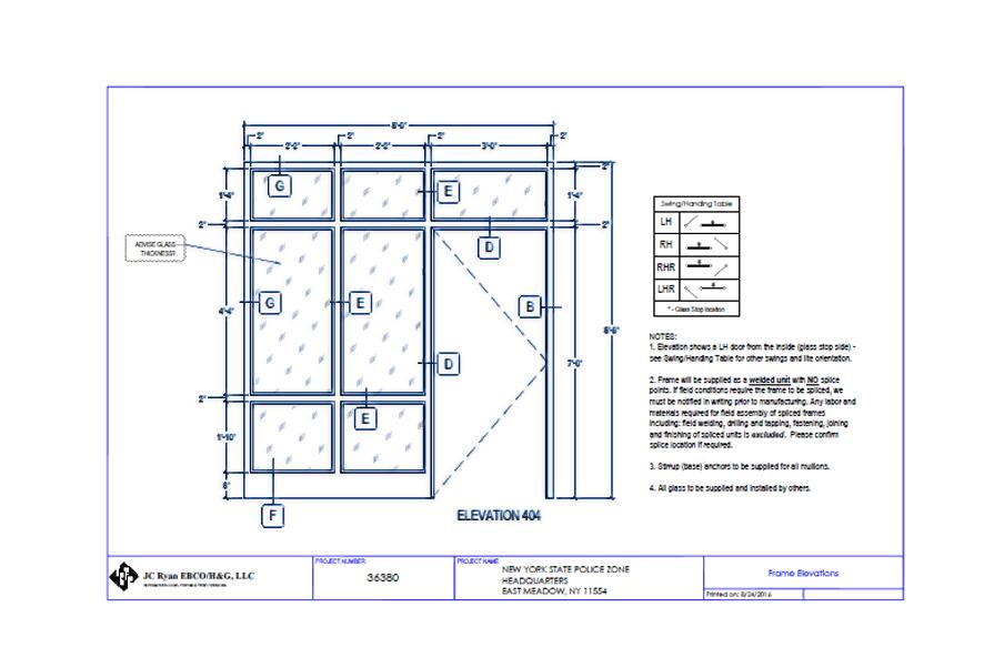 JC Ryan Project Blueprints
