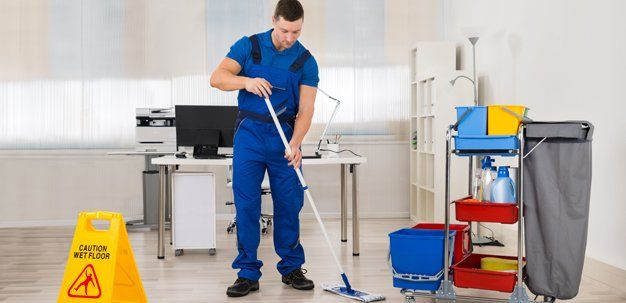 Janitorial work