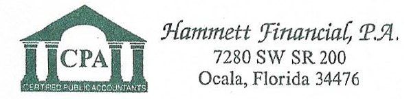 Hammett Financial, P.A. - Logo