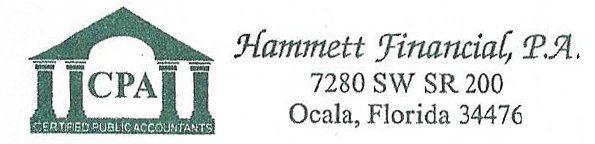 Hammett Financial, P.A. - Logo