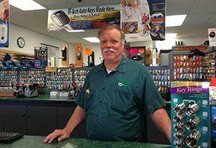 Green Valley Lock & Safe store interior