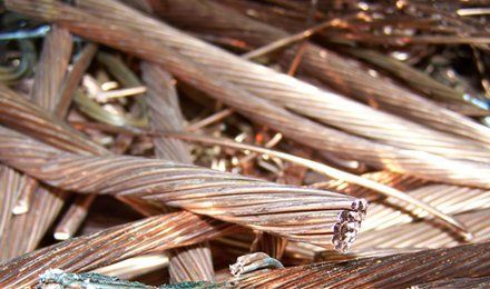 Bronze copper wires