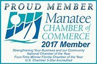 Proud Member - Manatee Chamber of Commerce