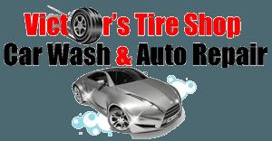 Victor's Tire Shop Car Wash & Auto Repair - Logo