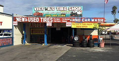 Victor S Tire Shop Car Wash Auto Repair Brakes San Diego