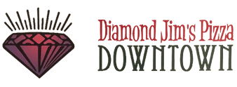 Diamond Jim's Pizza Downtown and Dog Pound Hot Dogs - Logo