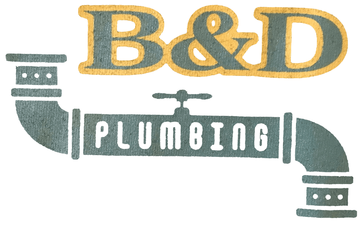 B&D Plumbing and Sewer Logo