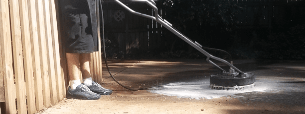 Siding power washing