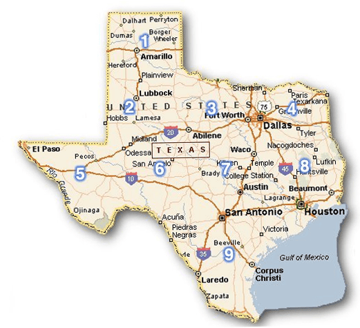 Universities Colleges Transport Katy TX