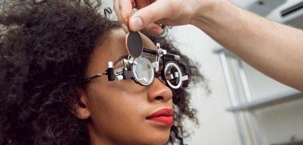 Eye check-up