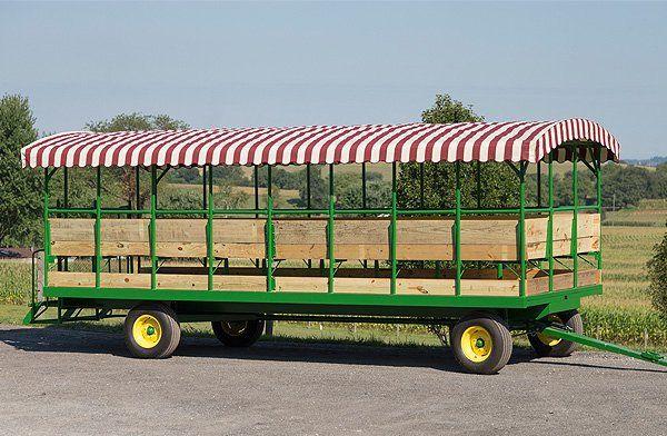 Gap Hill Farm Wagons | Custom Hay Wagons | Gap, PA