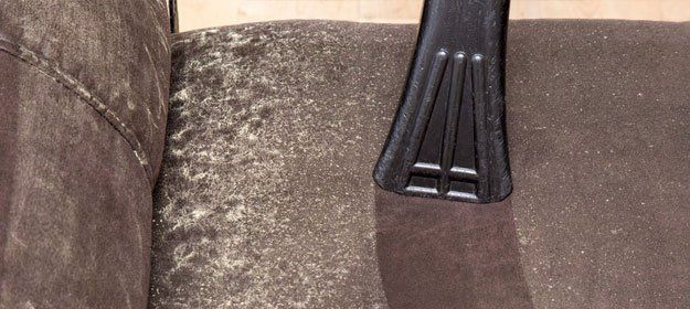 contaminated upholstery