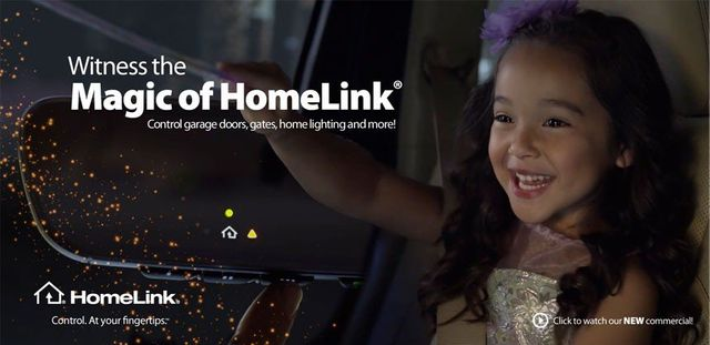 Witness the magic of HomeLink