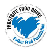 Frostbite Food Drive - Father Fred Foundation logo
