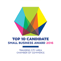 Top 10 Candidate Small Business Award 2016 logo