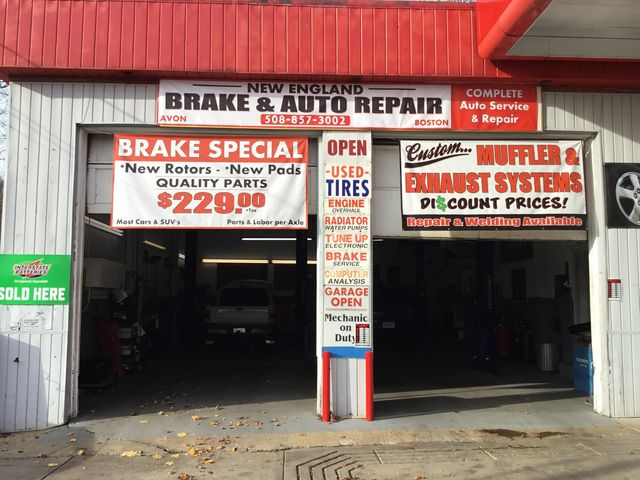 New England Brake & Auto Repair | Shocks | Boston | Avon | MA