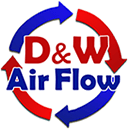 D & W Air Flow Inc - Logo