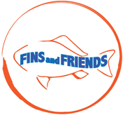 Fins and Friends logo