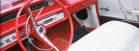 Upholstery restorations
