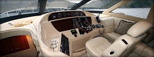 Boat upholstery