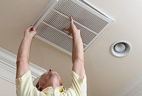Air duct service