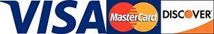 Visa, Master Card, & Discover