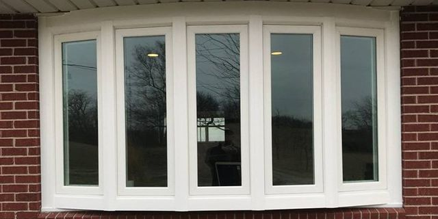 New bay window from the outside
