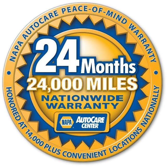 24-Month Warranty