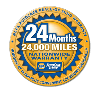 24 months - 24,000 miles Nationwide Warranty