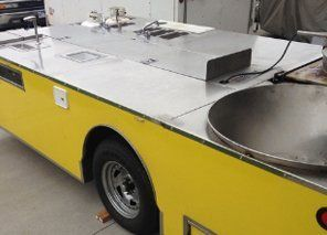 Kettle corn and Fresh squeezed lemonade open trailer