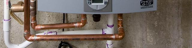 Water Heater Pipe line