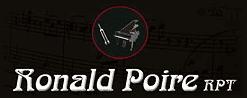 Ronald Poire Piano - Logo