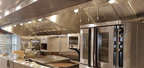 commercial kitchen hood | installation | willington, ct