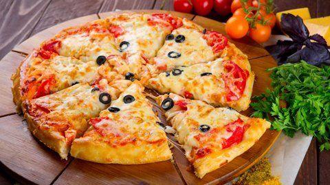 Supreme Italian gourmet pizza
